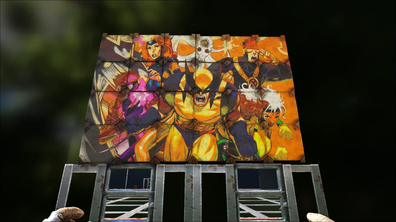 Ark Survival Evolved - Tableau X-Men
