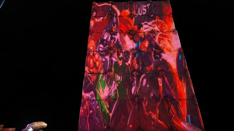 Ark Survival Evolved - Panneau Justice League