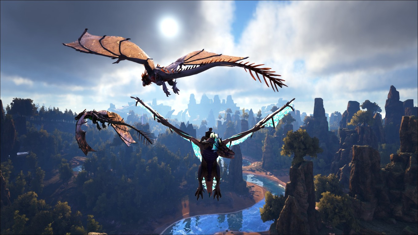 Ark Survival Evolved - Wyvern En Vol