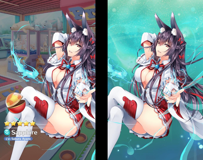 Girls X Battle 2 - Sapphire