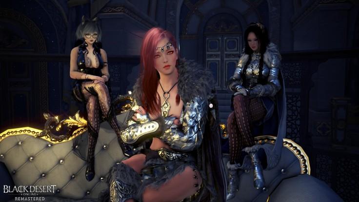 Black Desert Gardiana, Valkyrie et Magicienne prête
