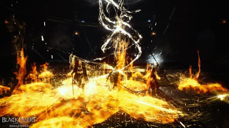 Black Desert Invocation, Lumière, feu et action !
