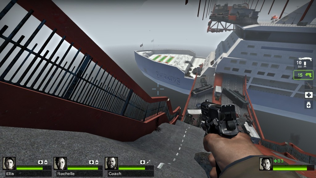 Left 4 Dead 2 - Day Break - Bateau Francis