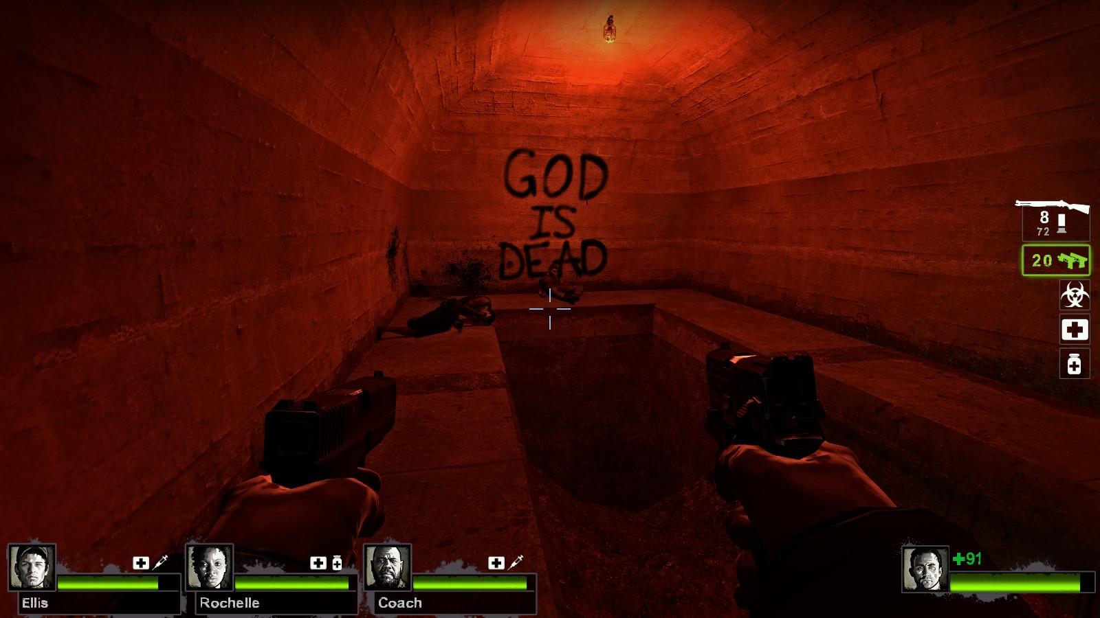 Left 4 Dead 2 - Day Break - God Is Dead