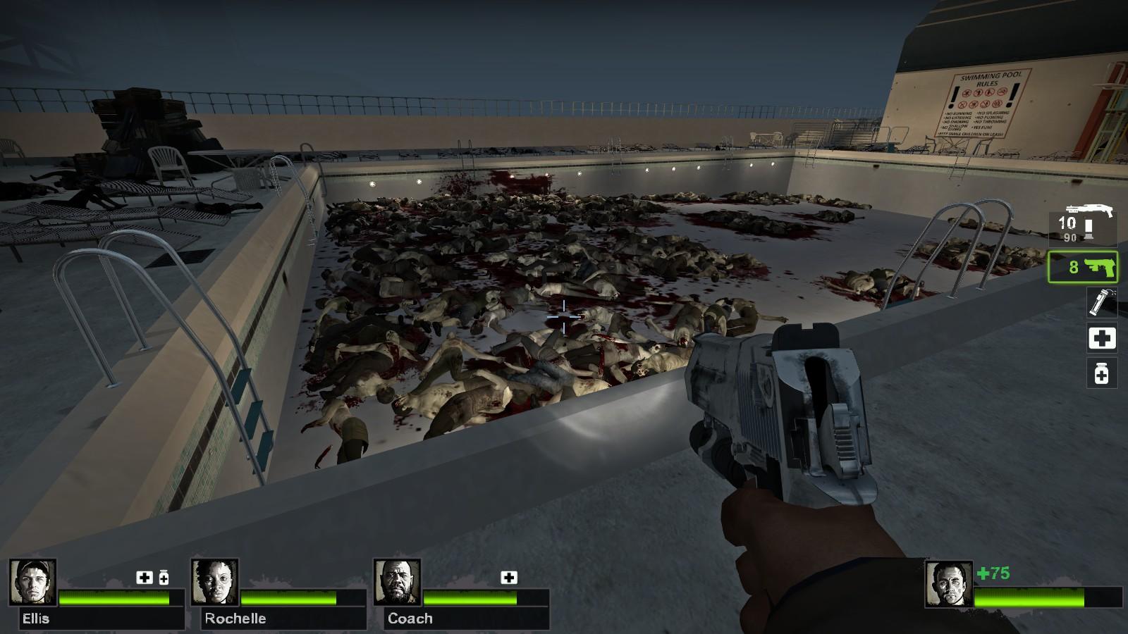 Left 4 Dead 2 - Day Break - La Piscine Des Morts