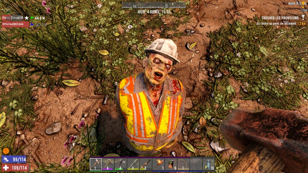 7 Days To Die - Zombie Ouvrier