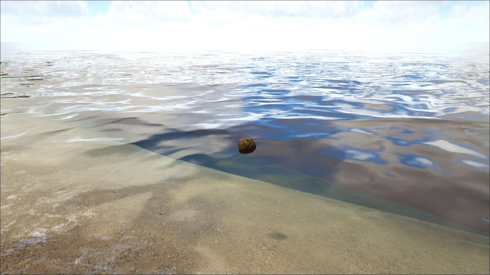 Ark Survival Evolved - Un Étron Flottent