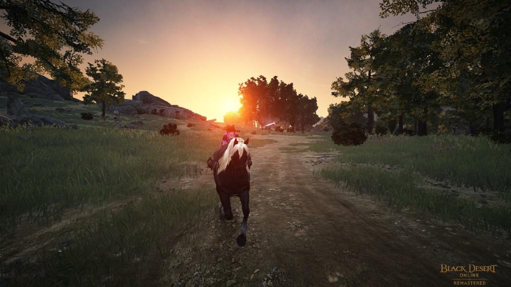 Black Desert Online - Balade à Cheval