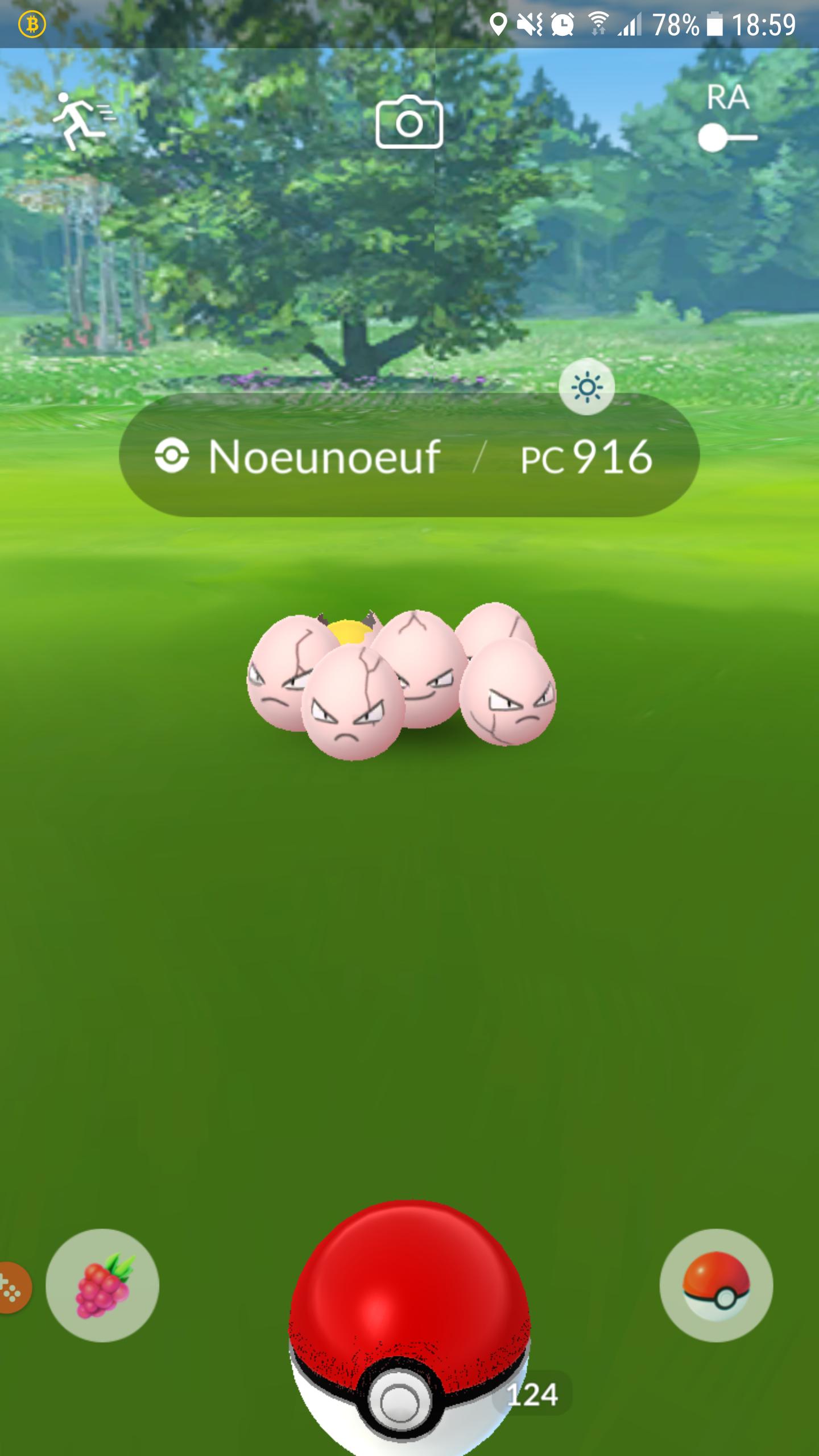 Pokémon Go - Noeunoeuf - Pc 916