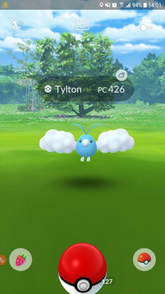Pokémon Go - Tylton - Pc 426