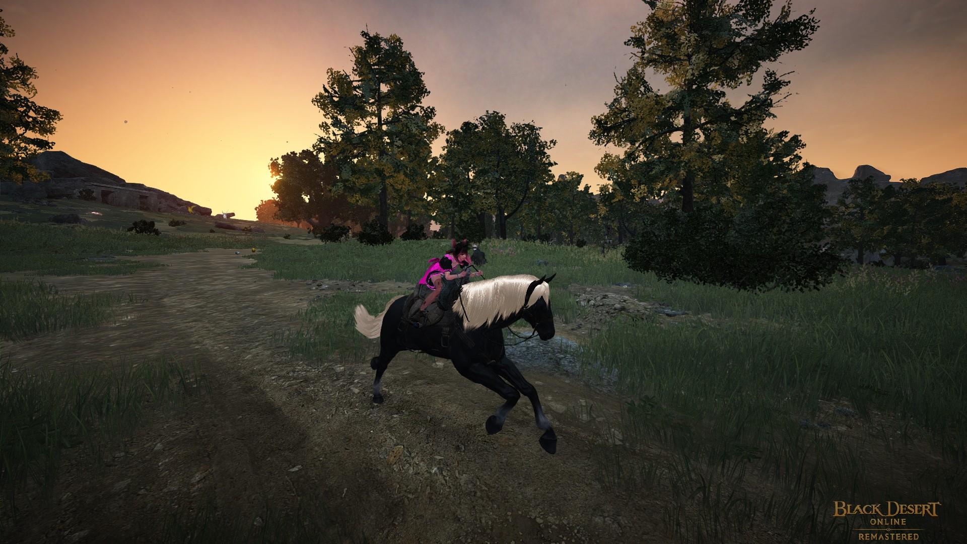 Black Desert Online - Ballade à Cheval