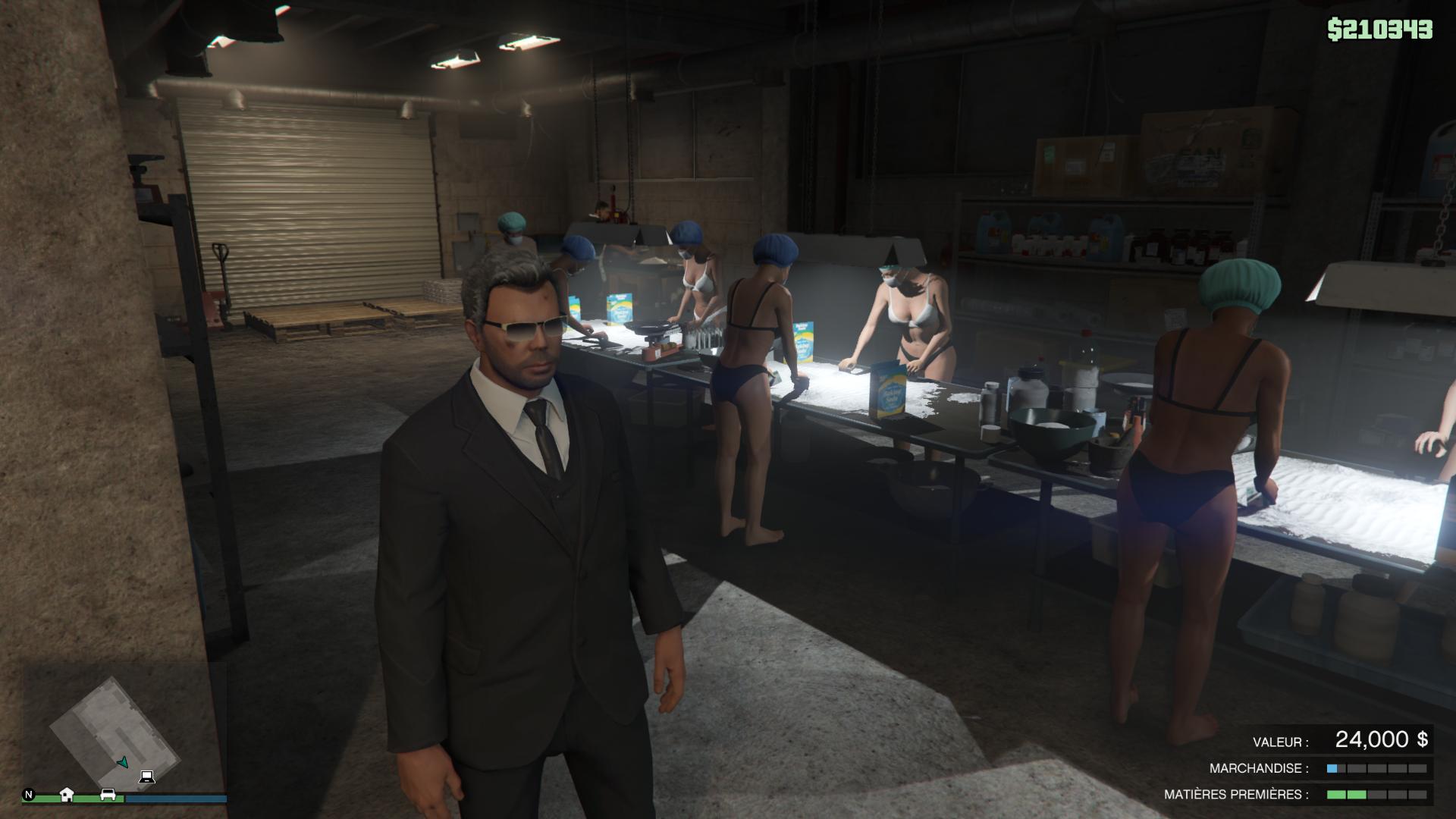Grand Theft Auto V - Mon Trafic De Came