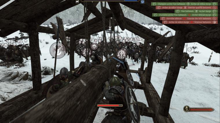 Mount & Blade II Bannerlord - Bélier Et Troupe