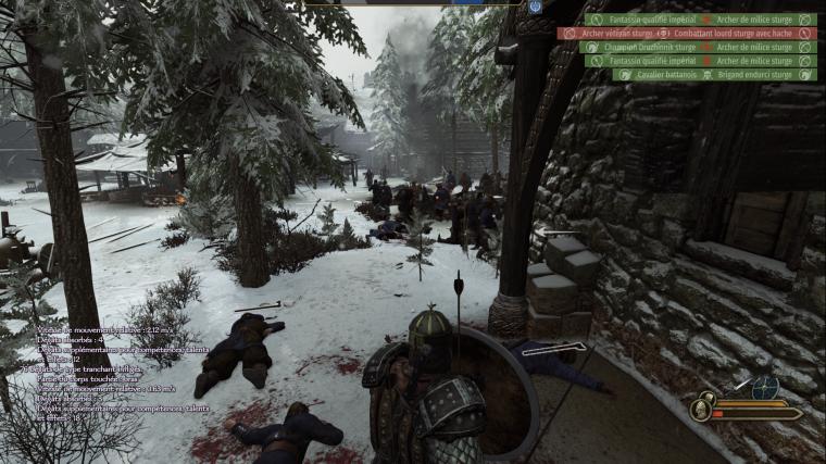 Mount & Blade II Bannerlord - Derrière Les Troupes Ennemies