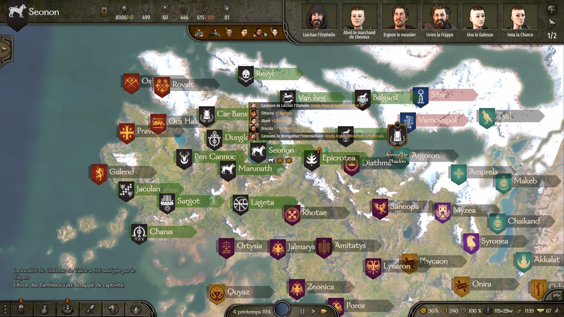 Mount & Blade II Bannerlord - Le Territoire Grandi